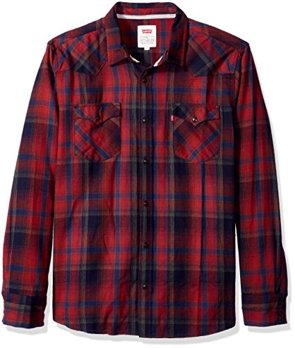 Levis Albemarle Sleeve Flannel Woven