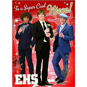 High School Musical 3 Super Cool Niece Birthday Card 125 X 175mm