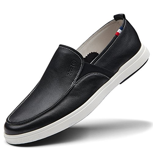 Popular ZRO Mens on Fashion slip Loafer Casual Shoes Black Branded 5CHqFH