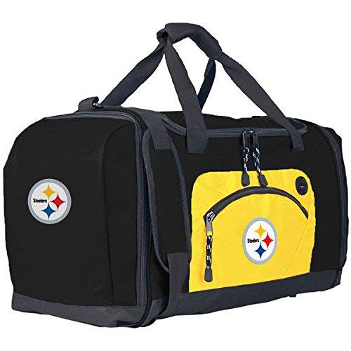 NFL Pittsburgh Steelers roadblock Duffel, Black/Gold, 20