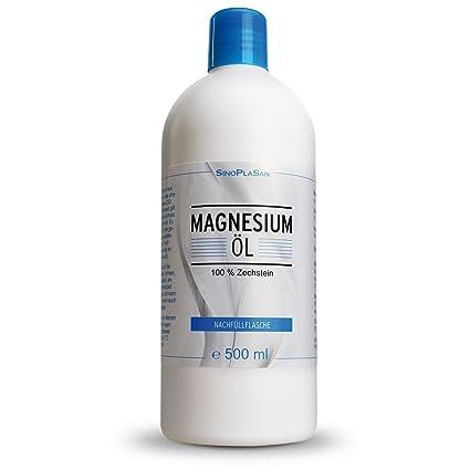 sinop Lasan Magnesio de aceite 100% ZECH piedra 500 ml botella