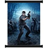 "Resident Evil 4 Game Fabric Wall Scroll Poster (16"" x 22"") Inches"