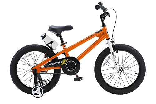 RoyalBaby BMX Freestyle Kids Bike, Boy's Bikes and Girl's Bikes with ... royalbaby bmx freestyle kid's bike 18