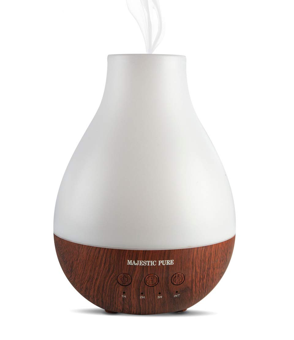 MAJESTIC PURE Essential Oil Diffuser  Advanced Aroma Diffuser with Strong Mist Output  Best