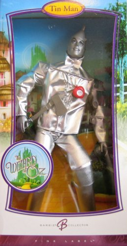 Barbie Collector Pink Label Wizard Of Oz Tin Man -