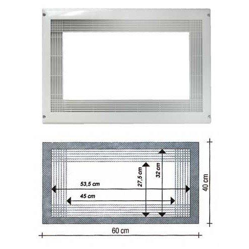 Piece constructor - Marco Microondas color blanco Universal para ...