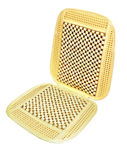 Wagan IN9912 Bead and Rattan Cool Seat Cover (Beaded Seat Covers For Cars compare prices)