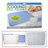Gomangos Cooling Gel Insert Pillow Soothsoft Comfort Pad Device Resting Sleeping On Tv