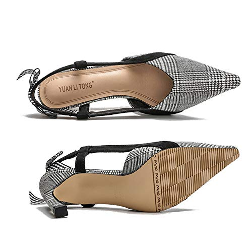 À Les Pour Bal Robe Chatons De Zpffe De Papillon Cravate Sandale Mariage De Chaussures Talons Femmes Carreaux Noce Toe FzxqE