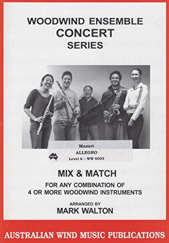 Allegro for Saxophone Quartet by W.A. Mozart