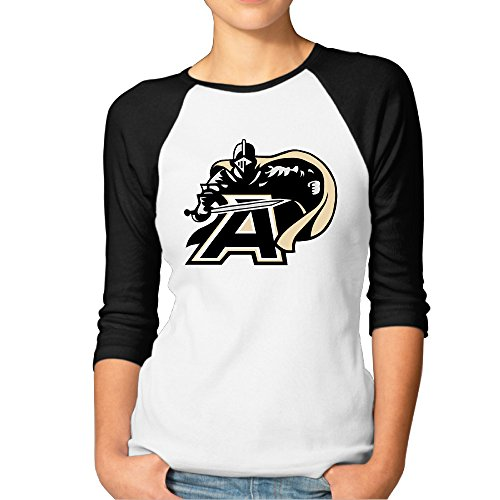 Price comparison product image GUC Women's 3 / 4 Sleeve Tee - United States Military Academy Knights Black XXL