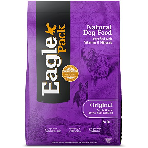 Eagle Pack Natural Dry Dog Food, Lamb & Rice, 30-Pound ()
