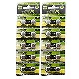 HyperPS (20 pcs) AG7 Alkaline 1.5V Button Cell Battery Single Use LR927 LR57 SR927W 399 GR927 G7 Watch Toys Remotes Cameras