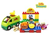 Best Little Treasures 3 Year Old Boy Gifts - Little Treasures 42 Pc Snap Together Building Brick Review