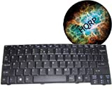 HQRP Replacement Keyboard for Acer Aspire One ZG5 Netbook / Subnotebook plus HQRP Coaster