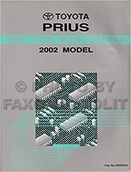 2002 toyota prius wiring diagram manual original: toyota: amazon ... 2002 prius wiring diagram isuzu wiring diagram free download amazon.com