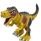 Kids Toy Walking Dinosaur Toy Figure With Lights & Sounds, Real Movement (A)