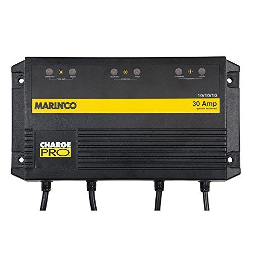 Marinco On Board Battery Charger 30A 3 Bank