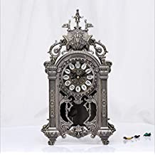 Exquisite and Practical, Stylish and Luxurious Clock, Hollow Craft