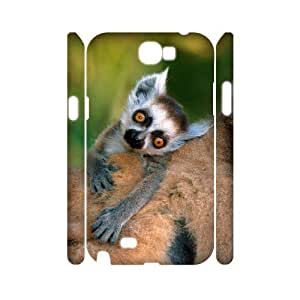 SYYCH Phone case Of Lemur Cover Case For Samsung Galaxy Note 2 N7100