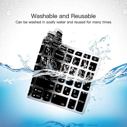 Keyboard Protector Silicone Skin Cover for Lenovo Ideapad 130 130-15IKB 15.6 inch Laptop