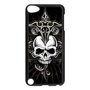 C-EUR Customized Print Skull Pattern Hard Case for iPod Touch 5