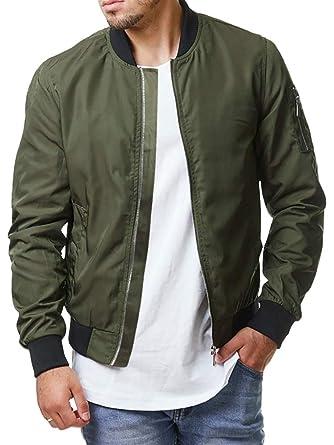 ad9e5ed92dd1 Pengfei Mens Diamond Quilted Jackets Bomber Varsity Winter Fall Chunky Coats  Outwear (Medium, 2