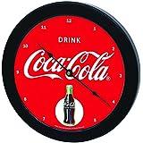 "Tablecraft CC365 ""Drink Coca-Cola"" Wall Clock, 10"", Red"