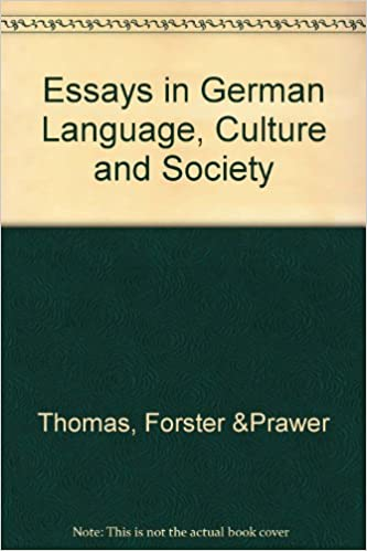 essays in german language culture and society institute  essays in german language culture and society institute publications s s prawer etc 9780854570362 com books