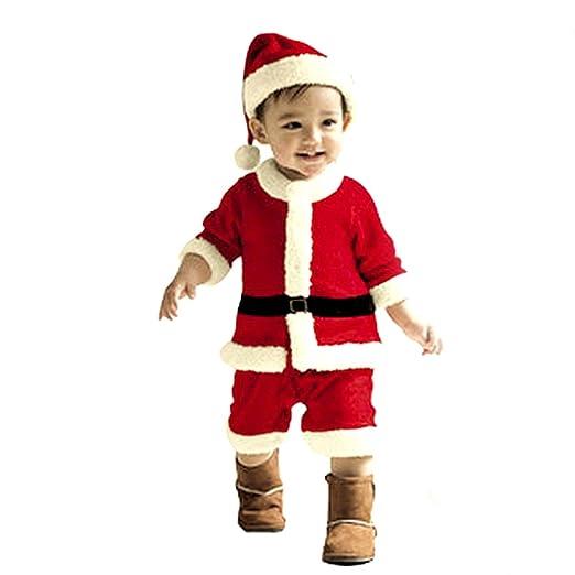 En caso de Wang los bebés de fiesta-equipo de niños de Papá Noel ...