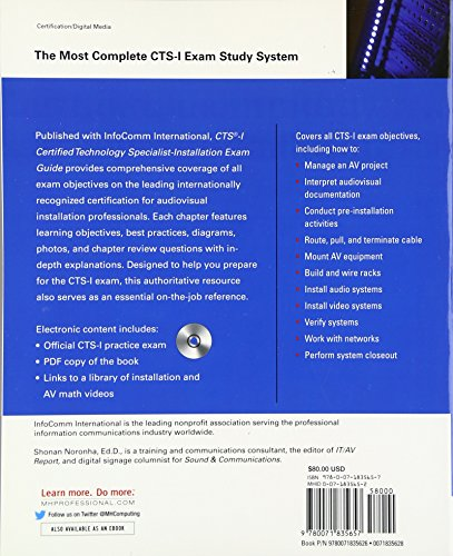 cts certified technology specialist exam guide ebook