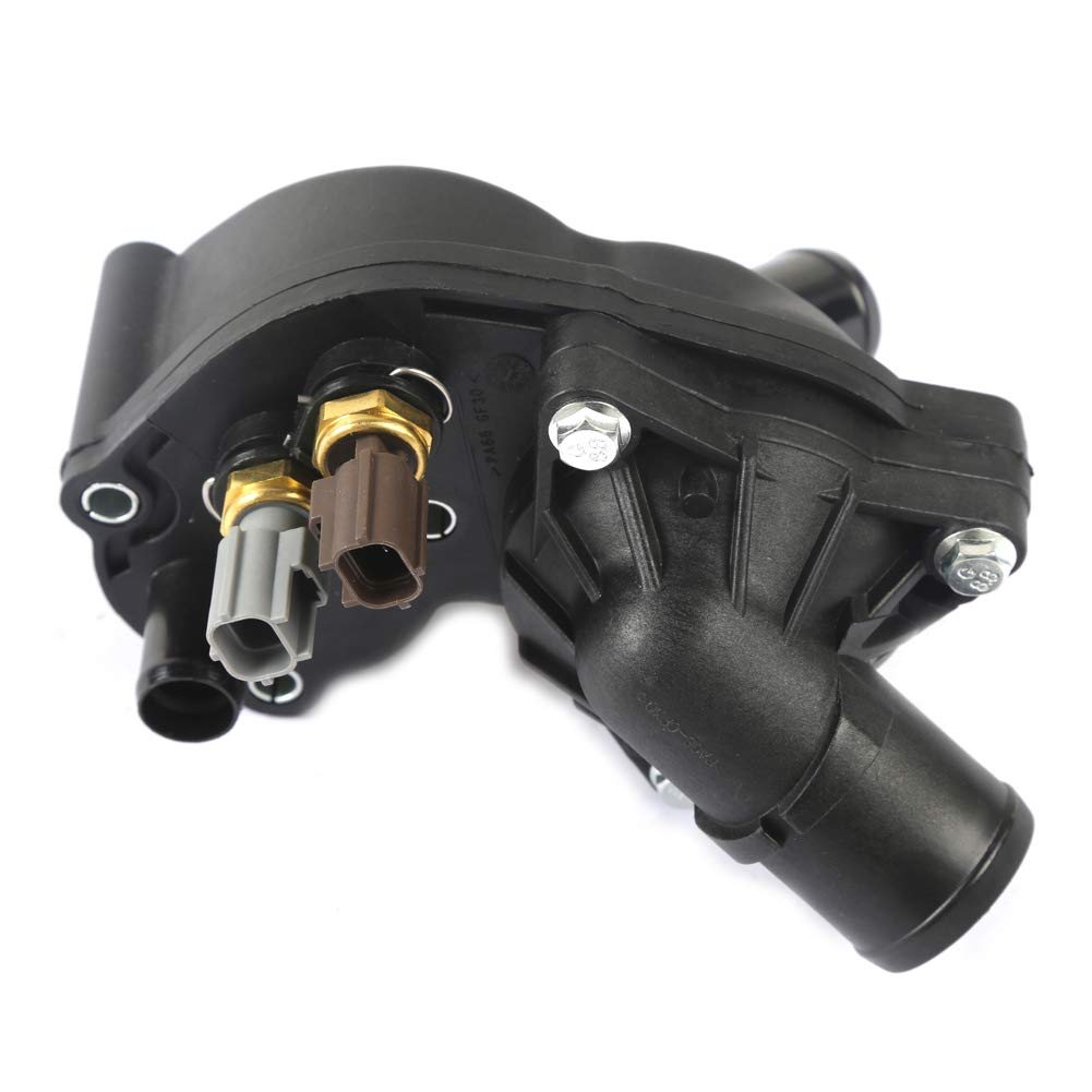 MOCA Thermostat Housing With Sensor for 2002-2010 Ford Explorer /& Mercury Mountaineer /& 2004-2008 Mazda B4000 /& Ford Ranger 4.0L V6 SOHC