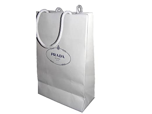 f27881550edc Image Unavailable. Image not available for. Color: Prada Gift bag