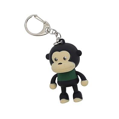 Amazon.com: Monkey Llavero LED de gran regalo con luz de ...