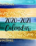 2020-2021 Calendar: 2 Year Jan 2020 - Dec 2021 Daily Weekly Monthly Calendar Planner For To Do List Academic Schedule Agenda Logbook Or Student & ... Gold (2020 Planner Weekly and Monthly)