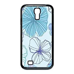 Pink Floral The Unique Printing Art Custom Phone Case for SamSung Galaxy S4 I9500,diy cover case ygtg570111 by supermalls