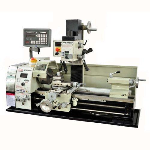 combo lathe mill machine - 9