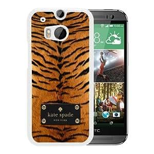 Unique Designed Kate Spade Cover Case For HTC ONE M8 White Phone Case 271