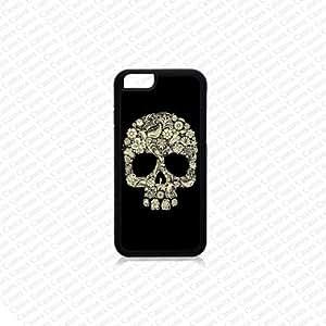 Krezy Case iPhone 6 Case, iPhone 6 case, Floral Skull iPhone 6 Case, Cute iPhone 6 Case, Unique iPhone 6 Case