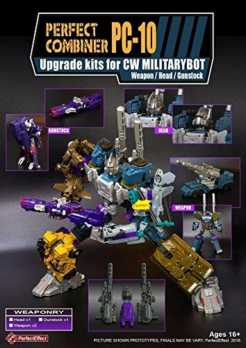 Perfect Effect Upgrade kits for CW Militarybot PC-10 キット [並行輸入品] B01DP89HOS