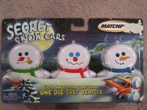 Matchbox Secret Snow Cars by Matchbox