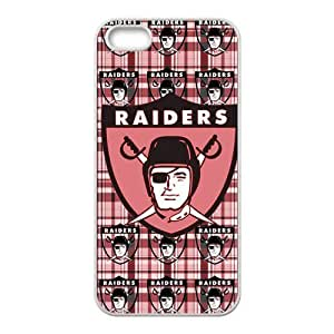 STYLE-UM@ NFL Oakland Raiders Soft TPU Back Phone Case for iphone 5s