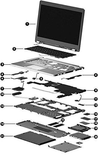 HP Top cover Protectora - Componente para ordenador portátil (Protectora, EliteBook Folio 9480m,