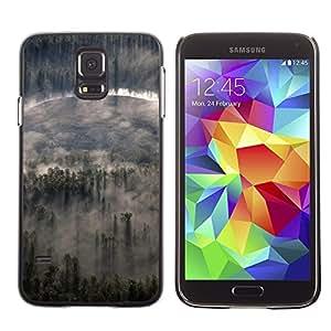 Be Good Phone Accessory // Dura Cáscara cubierta Protectora Caso Carcasa Funda de Protección para Samsung Galaxy S5 SM-G900 // Nature Forrest Clouds