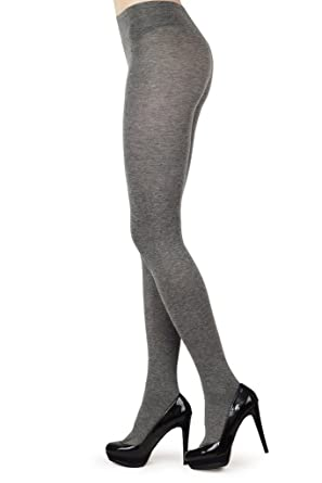 6b7b91db7c08d Ladies Hosiery Opaque Luxury Full Matt 3D Cotton Tights, Cotton Gusset,  Comfort Band, 120 Denier: Amazon.co.uk: Clothing