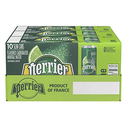 d Carbonated Mineral Water, 8.45 fl oz. Slim Cans (30 Count) ()