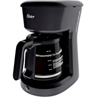 Cafetera de 12 tazas Oster® negra sistema de switch BVSTDCS12B013