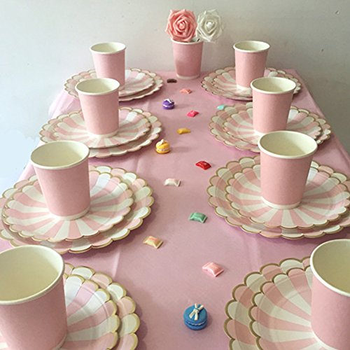 SHZONS Party Supply Pack Paper Plates Cups Napkins ... & SHZONS Party Supply Pack Paper Plates Cups Napkins for Parties ...