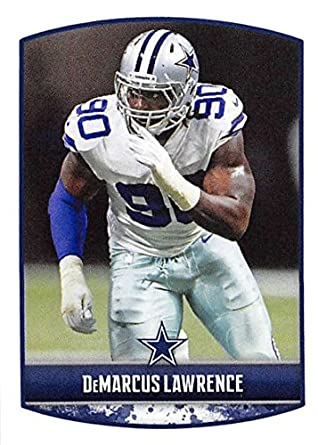 dbb9c1510 2018 Panini NFL Stickers Collection  237 DeMarcus Lawrence Dallas Cowboys  Official Football Sticker