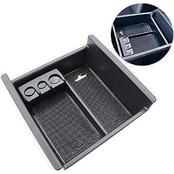 VCiiC Armrest Storage Organizer Center Console Tray Divider For Cadillac Escalade 2015 2016 2017